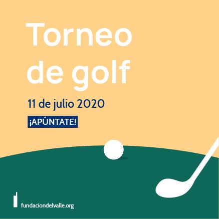 Cartel Torneo de golf