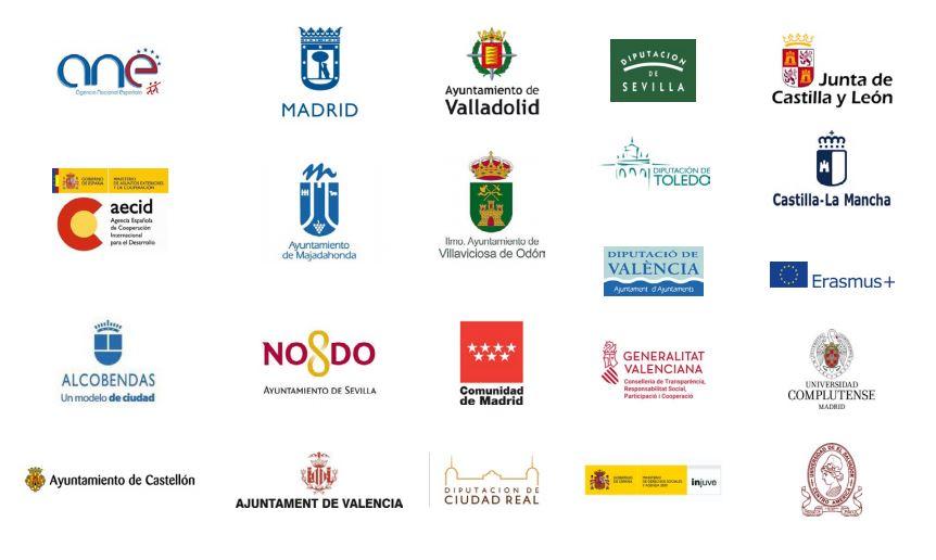 Logos entidades públicas
